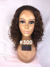 "12"", Deep Body Wave, Full Lace, Custom Colored"