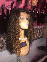 18 deep body wave full lace highlights custom color glueless wig
