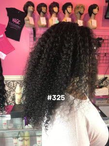 "20"", Curly, Full Lace"