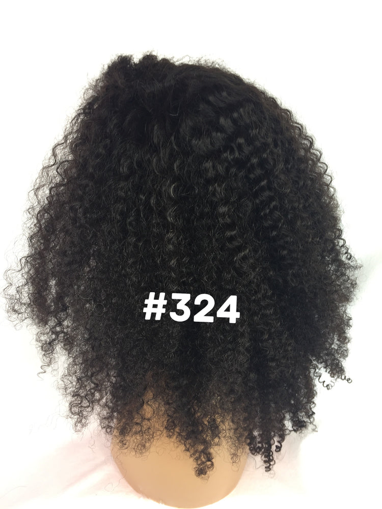 "16"", Kinky Curly, Front Lace"