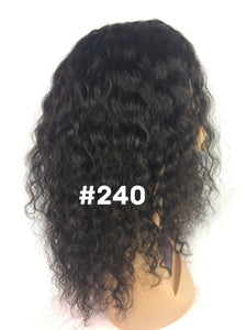 "14"", Full lace, Deep body wave, 150% density,"