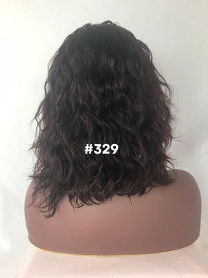 "12"", Body Wave, Dark Burgundy, Front Lace"