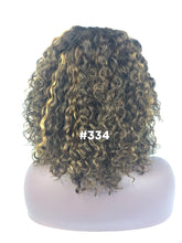 "Load image into Gallery viewer, 12"", curly, custom color, front lace"