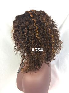 "12"", curly, custom color, front lace"