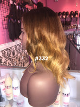 "14"", Silky Straight, Custom Ombre, Front Lace"