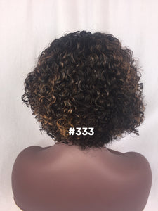 "10"", Curly, Custom Color, Front Lace"
