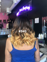 "14"", Silky Straight, Ombre, Front Lace"