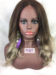 Custom Glueless Lace Wig