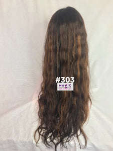 "24"", Body Wave, Full Lace, Custom Colored"