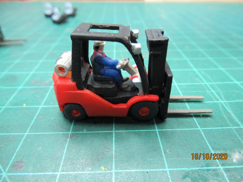 Making of some forklifts