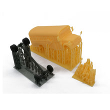 Load image into Gallery viewer, School Bus with Kids and Parents HO Scale 1:87