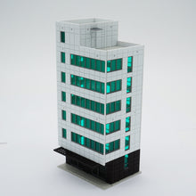 Load image into Gallery viewer, Colored Modern City Business Building Tall Office N Scale Outland Models Railway