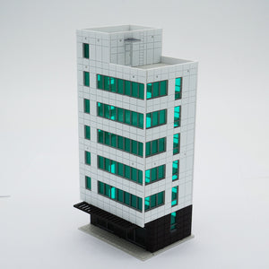 Colored Modern City Business Building Tall Office N Scale Outland Models Railway