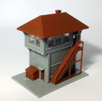 Signal Tower / Box for Station N Scale 1:160 Outland Models Train Railway Layout