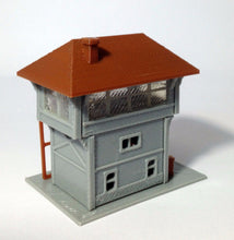 Load image into Gallery viewer, Signal Tower / Box for Station N Scale 1:160 Outland Models Train Railway Layout