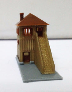 Wood Style Signal Tower / Watchtower N Scale Outland Models Train Railway Layout