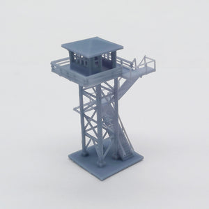 Outland Models Model Railroad Scenery Layout Large Watchtower 1:220 Z Scale