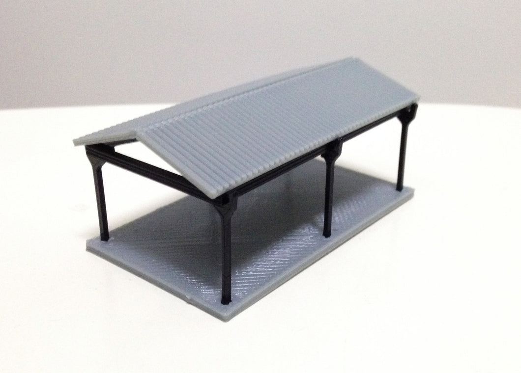 Small Shed for Autos / Goods N Scale 1:160 Outland Models Railway