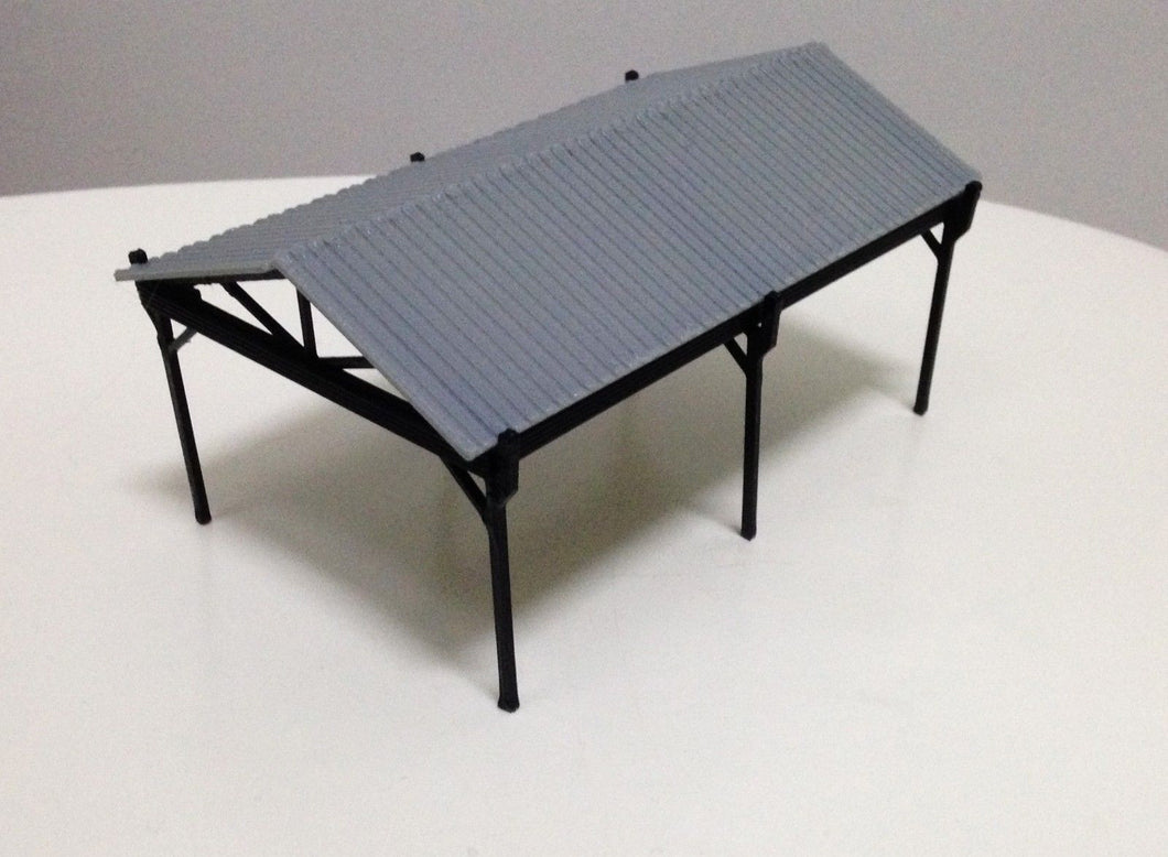 Small Shed for Autos / Goods HO OO Scale Outland Models Railway