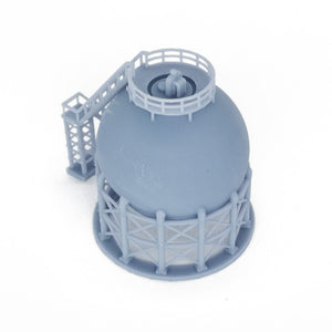 Industrial Spherical Storage Tank 1:220 Z Scale Outland Models Railroad Scenery
