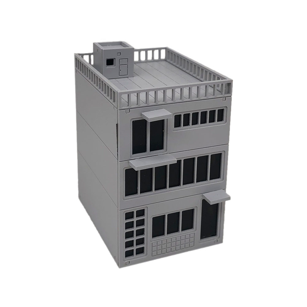 Modern Resident House Building N Scale