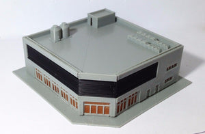City Corner Mall Department Store Z Scale 1:220 Outland Models Train Railway