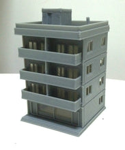 Load image into Gallery viewer, Modern City Building 4 Story Apartment N Scale Outland Models Railway Layout
