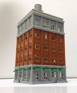 City Classic Tall Building Grand Hotel N Scale Outland Models Train Railroad