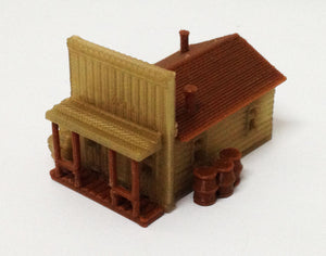 Building Old West House / Shop N Scale 1:160 Outland Models Train Railway Layout