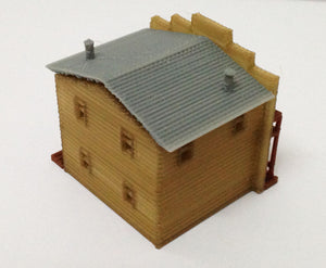 Building Old West Saloon / Shop N Scale Outland Models Train Railway Layout
