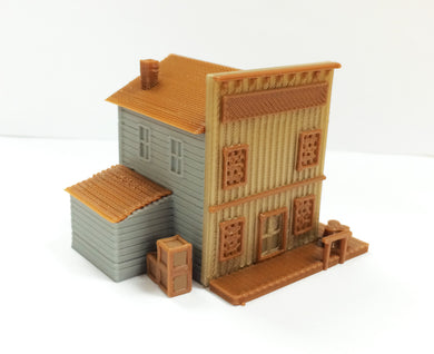 Old West Shop / Store N Scale 1:160 Outland Models Train Railway Layout