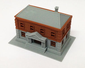 Government Dept / City Hall / Police Station N Scale Outland Models Railroad