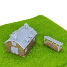 Load image into Gallery viewer, Country Farm Barn w Accessories N Scale 1:160