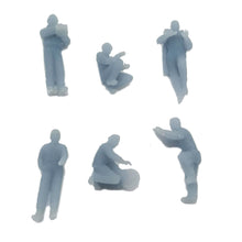 将图片加载到图库查看器,Car Maintenance Crew Figure Set 1:160 N Scale