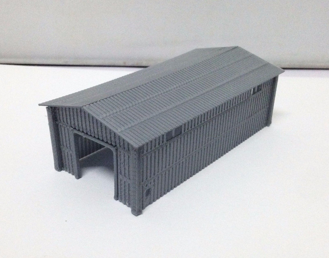 Shed for Warehouse / Factory Z Scale Outland Models Train Large Metal Style