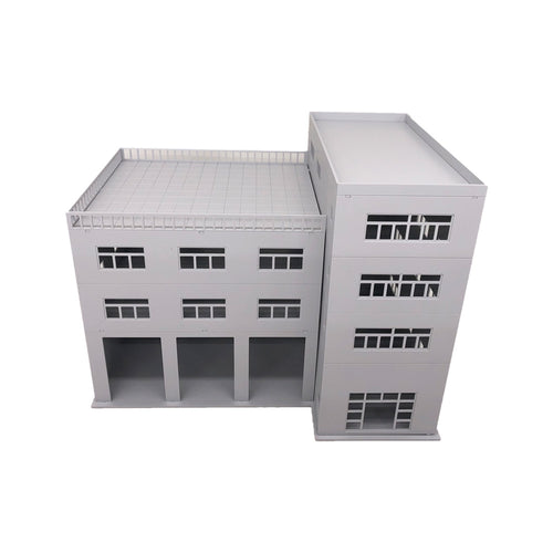 3-Stall Truck Garage/Engine House HO Scale 1:87