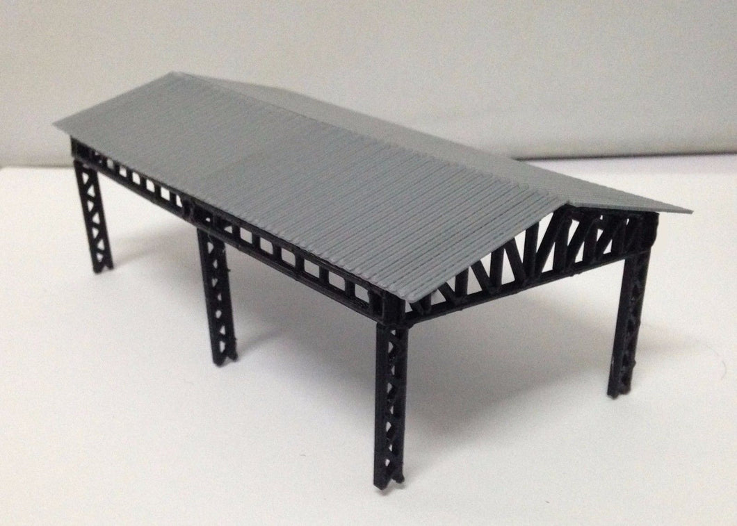 Medium Open Shed for Cargo / Equipment HO OO Scale Outland Models Train Railroad