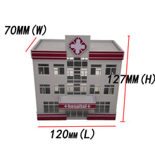 Load image into Gallery viewer, Modern Medical Centre Hospital Building HO Scale