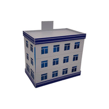 Load image into Gallery viewer, Modern Police Department Building HO Scale 1:87