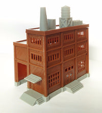 Load image into Gallery viewer, Building Large Factory with Covered Loading Dock N Scale Outland Models Railroad