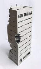 Load image into Gallery viewer, City Damaged Abandoned Office Building N Scale Outland Models Railway Scenery