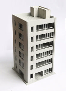 Downtown City Office Building N Scale Outland Models Railway Scenery Layout