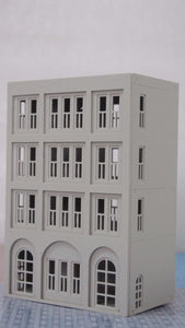 Modern City Building 4-Story House / Shop N Scale 1:160 Outland Models Railway