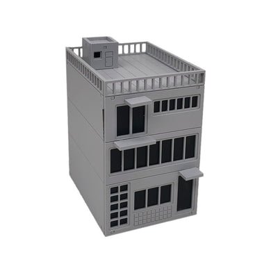 3-Story City Shop 1:87 HO Scale