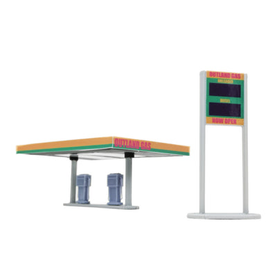 Gas Station 1:87 HO Scale