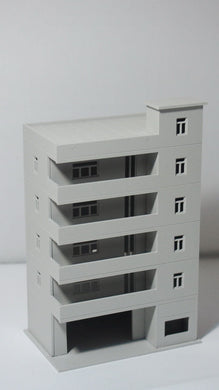 Modern Tall School / Apartment N Scale 1:160 Outland Models Railway