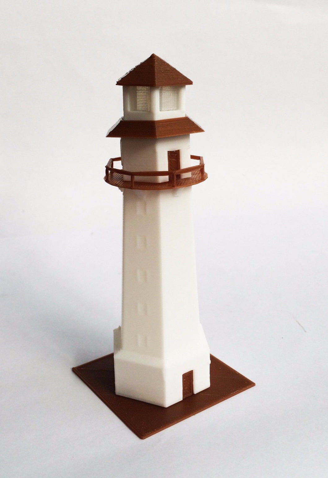 Scenery Building Country Lighthouse N Scale 1:160 Outland Models Train Railway