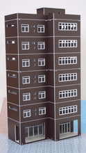Load image into Gallery viewer, Modern Tall Business Building Office HO OO Scale Outland Models Train Railway