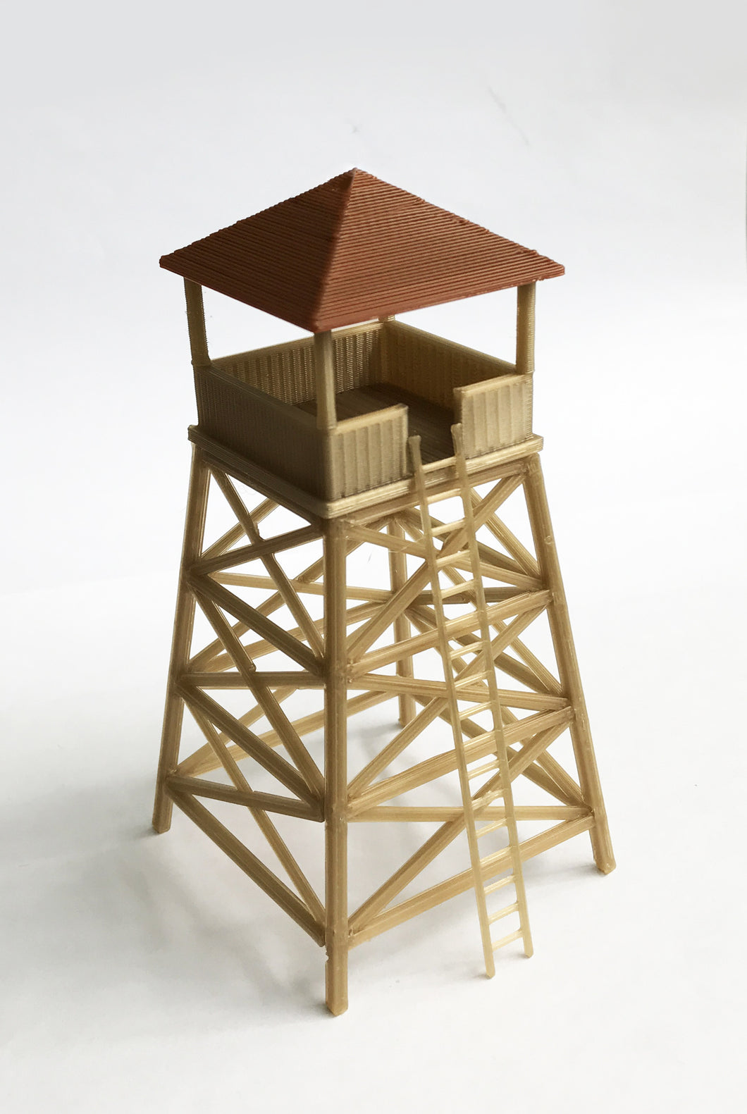 Country Watchtower / Lookout Tower (tall) HO Scale Outland Models Railway Layout