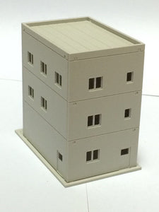 Modern 3-Story Building / Shop A Unpainted N Scale 1:160 Outland Models Railway